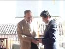 Consegna targhe-ricordo all'ex CdA - Fondazione Ordine Ingegneri Catania